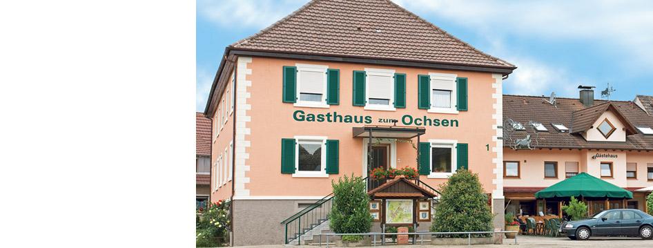 Gasthaus »ZUM OCHSEN« in Unzhurst
